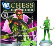 DC Chess Figurine Collection #43 Green Arrow White Pawn Justice League Eaglemoss